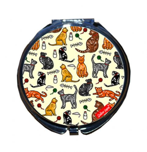 Selina-Jayne Cats Limited Edition Compact Mirror